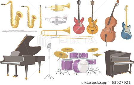 재즈 연주에 사용되는 악기 여러가지 63927921