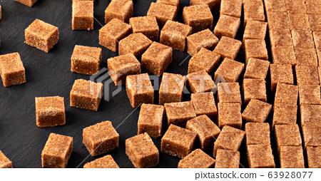 sugar cubes background 63928077