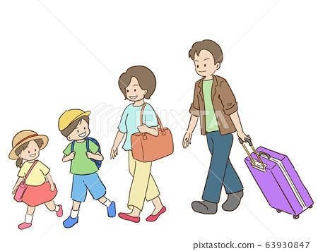 가족 여행 63930847