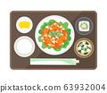 Shrimp chilli set meal 63932004