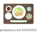 Dumplings set meal 63932022