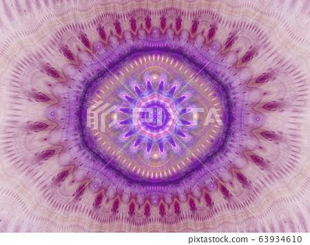 Kaleidoscope pattern abstract background. 63934610
