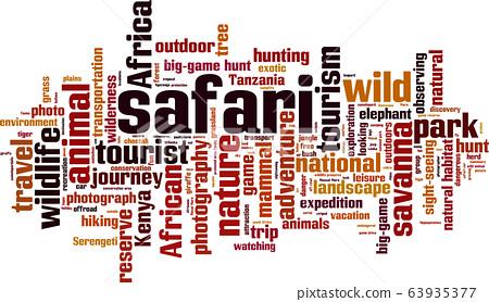 Safari word cloud 63935377