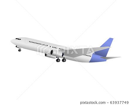 plane vector design skyline  travel  63937749