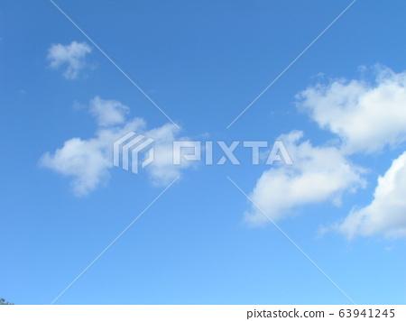2月的藍天和白雲 63941245