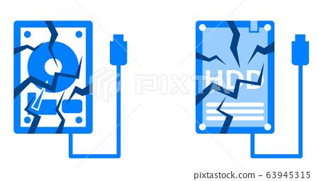 硬盤損壞 63945315