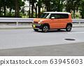 汽車運行輕型汽車 63945603