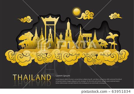 Thailand travel illustrator 63951834