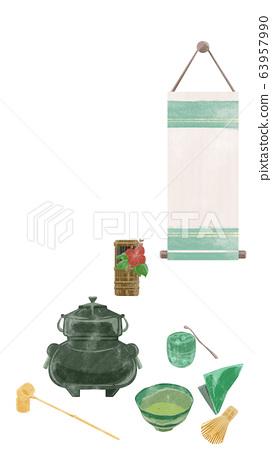 茶禮設置圖像圖 63957990