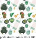 茶道用具模式圖 63959381