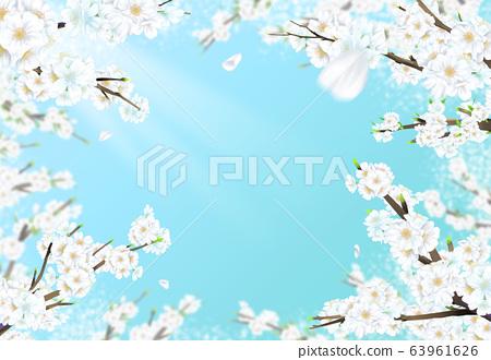 벚꽃일러스트,  63961626