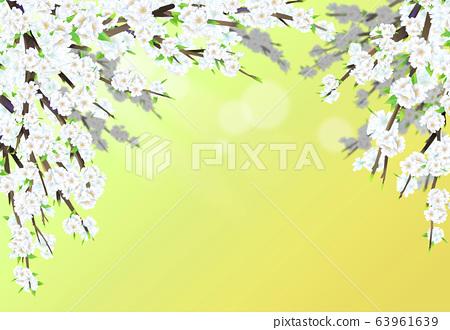 벚꽃일러스트,  63961639