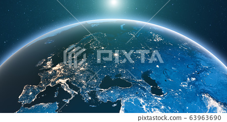 Earth from space 63963690