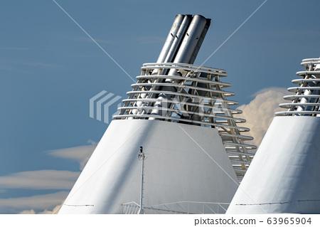 ferry ship boat chimney detail 63965904