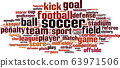 Soccer word cloud 63971506