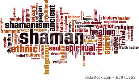 Shamnism word cloud 63971565