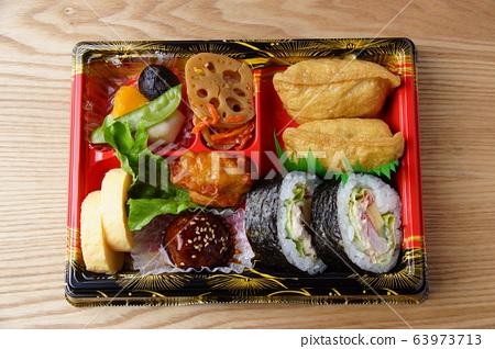 Sukeroku bento Japanese lunch 63973713