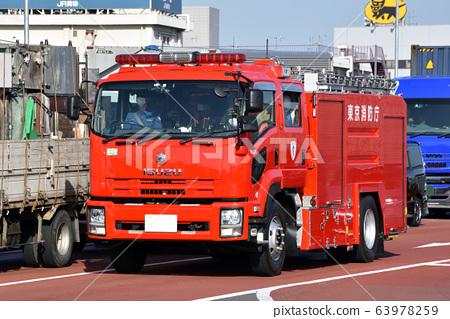 Tokyo Fire Department Fire Engine 63978259