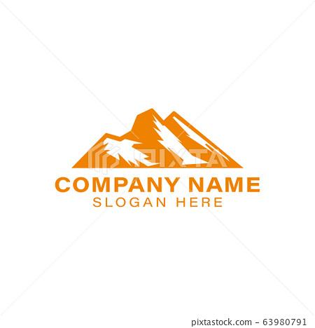 mountain peek. adventure logo Ideas. Inspiration 63980791
