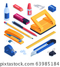 Office And School Stationery Set 63985184