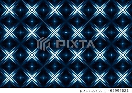 Background with fractal design kaleidoscope 63992621