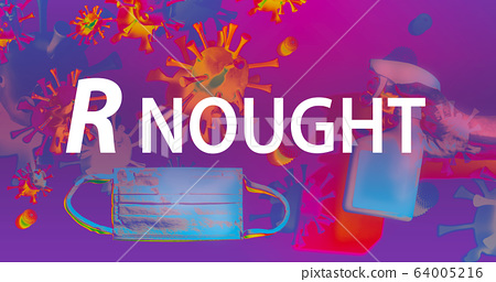 R Nought theme with face mask and spray bottle 64005216