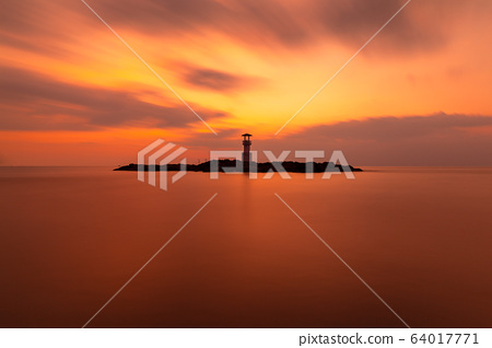 Landscape of Khaolak lighthouse 64017771