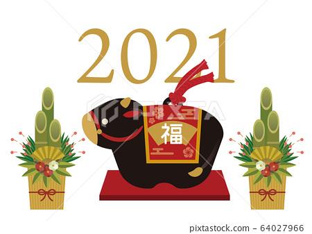 公牛2021年 64027966