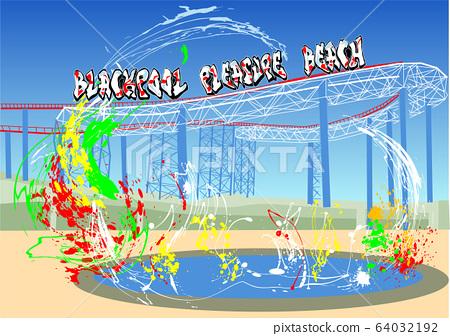 blackpool pleasure beach 64032192