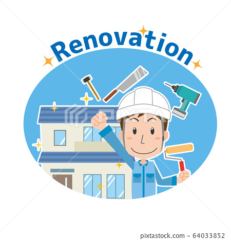 房屋,裝修,翻新,工人 64033852