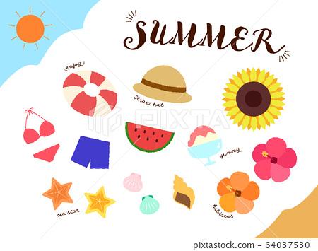 夏季材料套 64037530