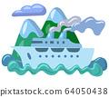 sea travel cruise 64050438