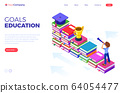 isometric education graduate achievements 64054477