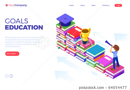 isometric education graduate achievements 64054477