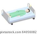 躺在床上的男人 64056082