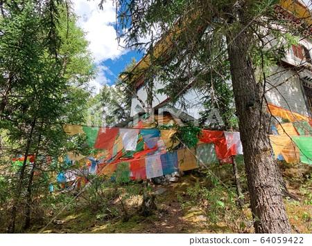 西藏獨有特色風光 64059422