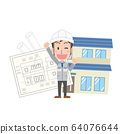 건축사 설계 주택 건축업자 주택 업체 기술 남성 64076644