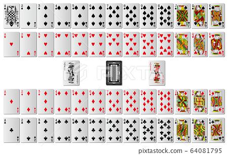 所有撲克牌的畢業 64081795