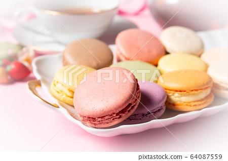 下午茶時間Macaron茶西式甜點Sweet Home Cafe Cafe 64087559