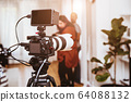 Cinematography Mirrorless Digital Camera equipments  64088132