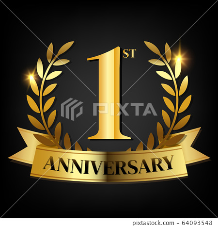 1st golden anniversary logo stock illustration 64093548 pixta pixta