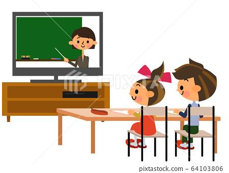 온라인 수업 64103806