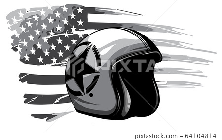 monochromatic america veteran day, memorial day, independence day, usa flag artwork 64104814