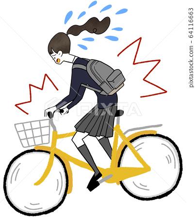交通事故自行車 64116663