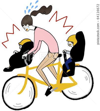 交通事故自行車 64116672