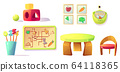 Montessori kindergarten equipment, toys, materials 64118365