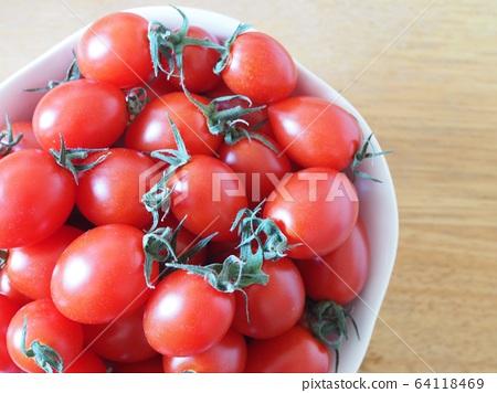 紅色迷你番茄 64118469