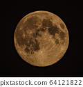 赤色月球 64121822