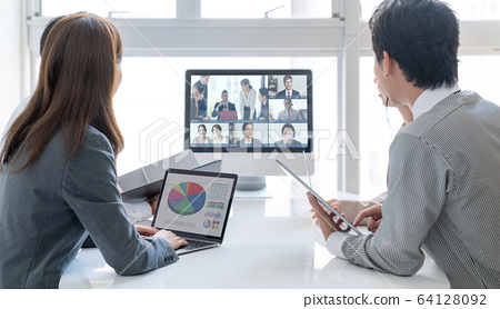 Video conference 64128092