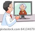 在線治療老年人的醫生 64134070